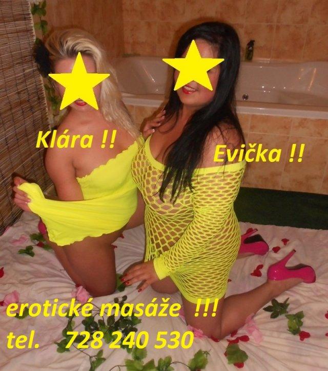 Rozkoš masáže-Klára+Eva