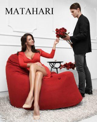 Pohodlné designové sezení Matahari Secret